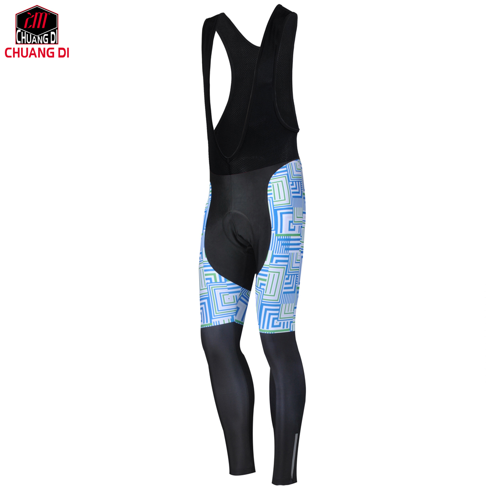 ZM CHUANGDI  spring autumn Cycling Bib Pants With 3D Gel Pad 100% Lycra Bicyclie Cycling Pants MTB Bike Riding Shorts 2019 Cycling Pants     - title=