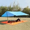 Ultralight 300cm Sun Shelter Portable Camping Mat Beach Tent Pergola Awning Canopy 190T Taffeta Tarp Camping Sunshelter