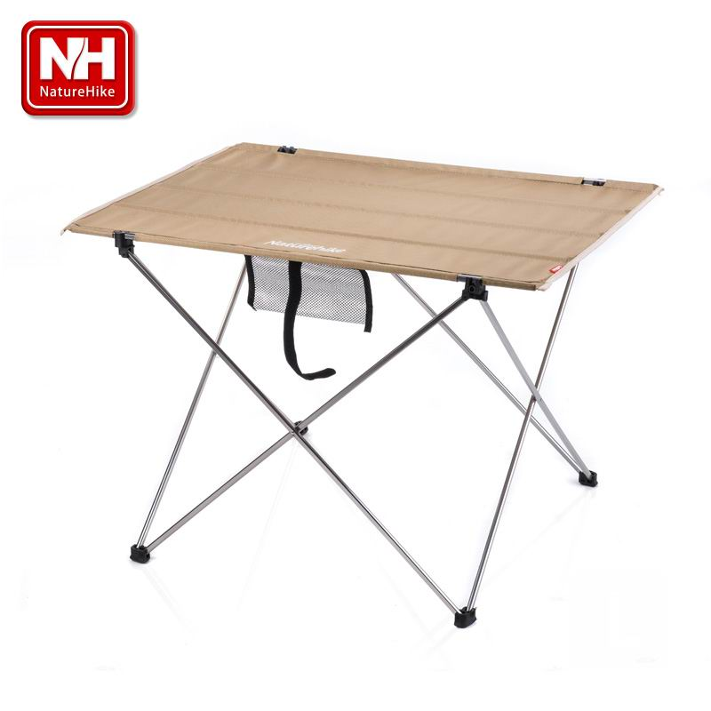 NH Outdoor Portable Folding Oxford Collapsible Tables Aluminium Alloy Ultralight Camping Fold-Away Table Barbecue Picnic Fishing kingcamp 2016 big capacity 20l portable ultralight travel car cooler box for outdoor cooking picnic barbecue camping food
