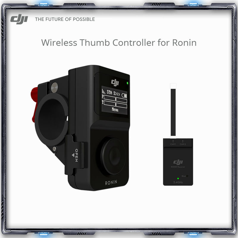 DJI Wireless Thumb Controller for Ronin makes controlling your Ronin easier and