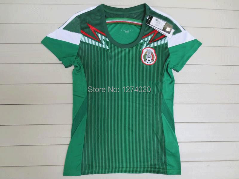 97949c22aaf 2014 Mexico soccer Jersey World Cup Home Green Men Women Best thailand  quality Football shirt CHICHARITO AQUINO SANTOS MARQUEZ-in Soccer Jerseys  from Sports ...