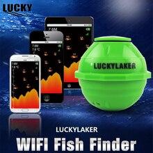 Fortunate FF916 Wi-fi WIFI Sonar Fish Finder Russian 12 Languages+Automobile Charger+ Free Reward WIFI+Extender Wi-Fi 50M Fishfinder #C4