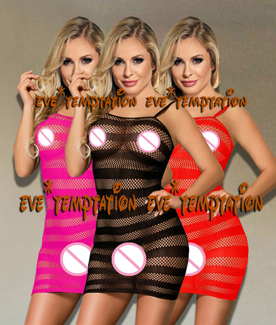 New Hot Women's Sexy Lingerie Body Stockings Sexy Dress Babydolls Transparente Fishnet Underwear Stocking Sex Products A087
