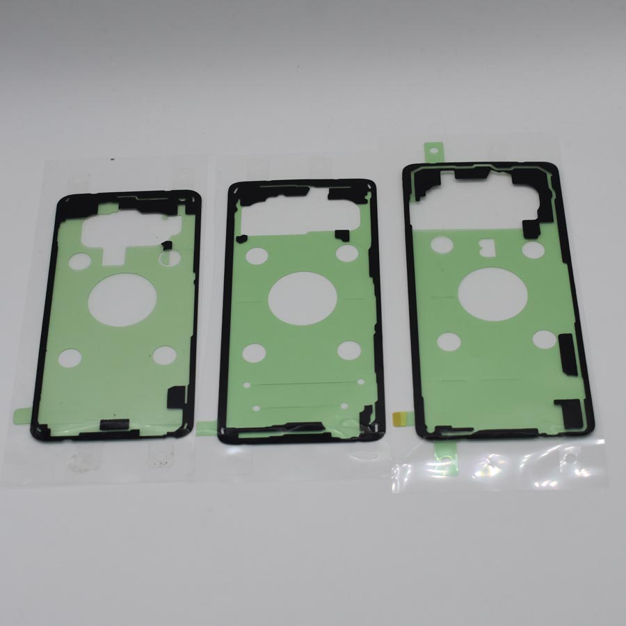 20pcs Original Rear Housing Door Back Cover Adhesive <font><b>Sticker</b></font> Glue Tape For Samsung <font><b>Galaxy</b></font> <font><b>S10</b></font> G973 <font><b>S10</b></font> Plus G975 S10e G970 image