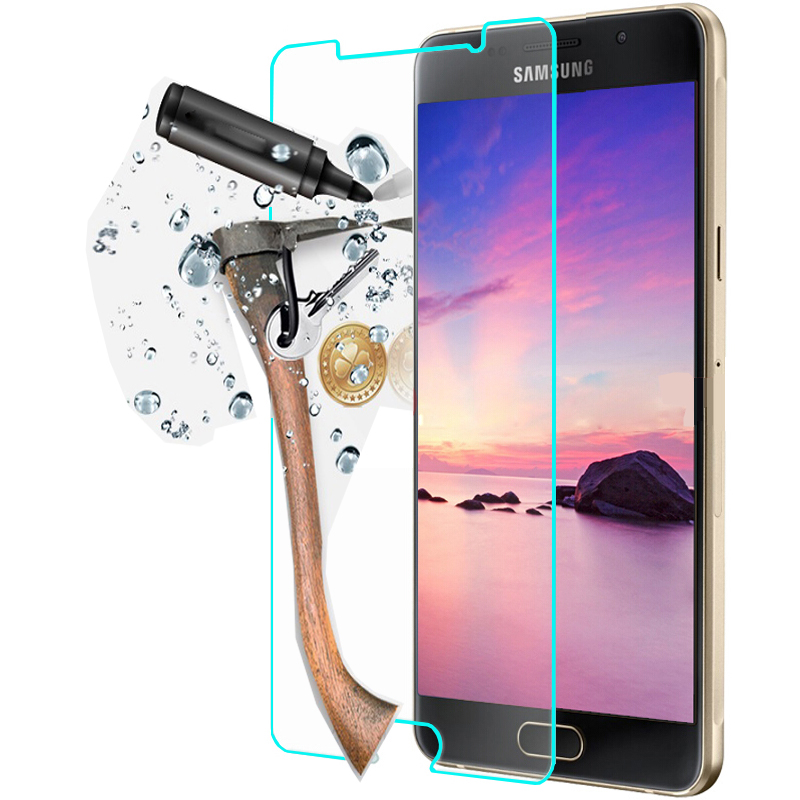 Tempered Glass For Samsung Galaxy A3 A5 A7 A3100 2016 High Transparent Screen Protector Protective For Samsung J1 J3 J5 J7 Film