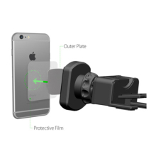 DuDa Magnetic Car Holder Mobile Phone Universal Support Cell Stand CD Slot & Air Vent Mount
