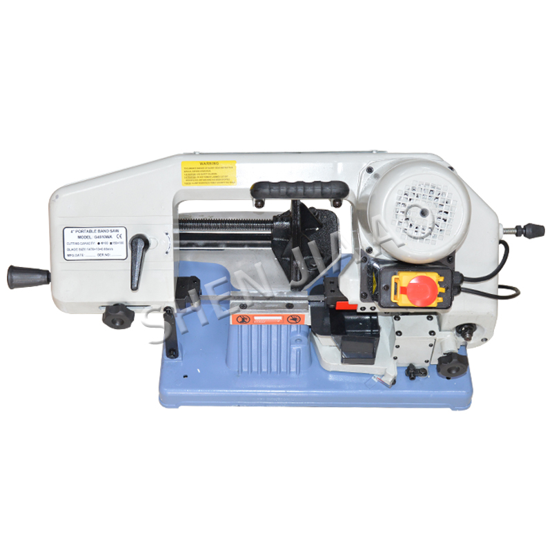 G4510WA 2 Portable Metal Band Saw Metal band sawing machine Motor copper wire Aluminum body 220V