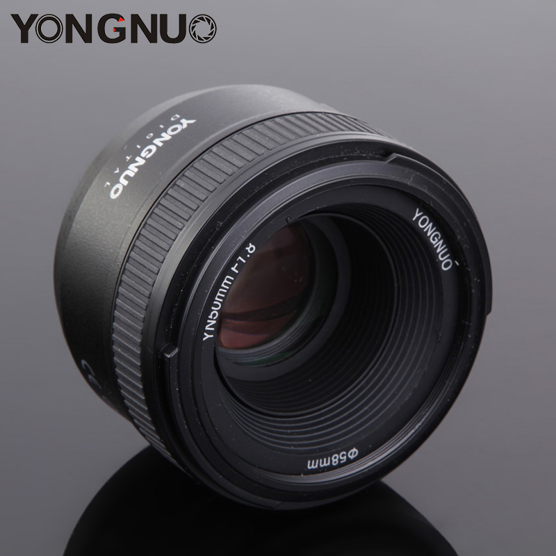 Yongnuo 50mm F1.8N Camera Lens Large Aperture Standard Prime Auto Manual Focus Lens YN50mm for Nikon D3300 D5300 D5100 D5200 yongnuo yn50mm f1 8 af large aperture auto focus lens mf yn 50mm for nikon d7100 d3100 d5300 d7000 d90 d5200 50mm f1 8 lens