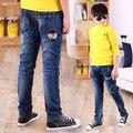 Masculino big boy pantalones vaqueros del niño 2017 primavera niño pantalones de los niños