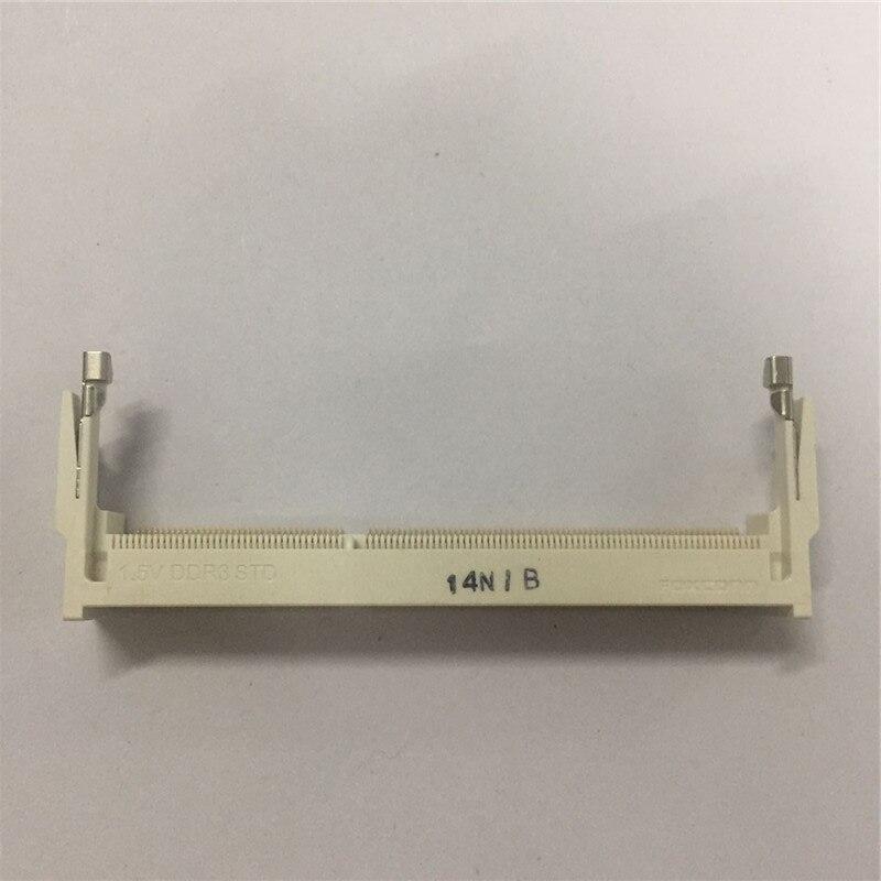 1PCS  Memory Slot Socket 1.5V DDR3 STD Forward 204P 9.2H 9.2MM  14NIB
