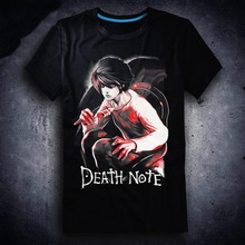 Death Note T shirt Anime Cotton Summer Short Sleeve Tees