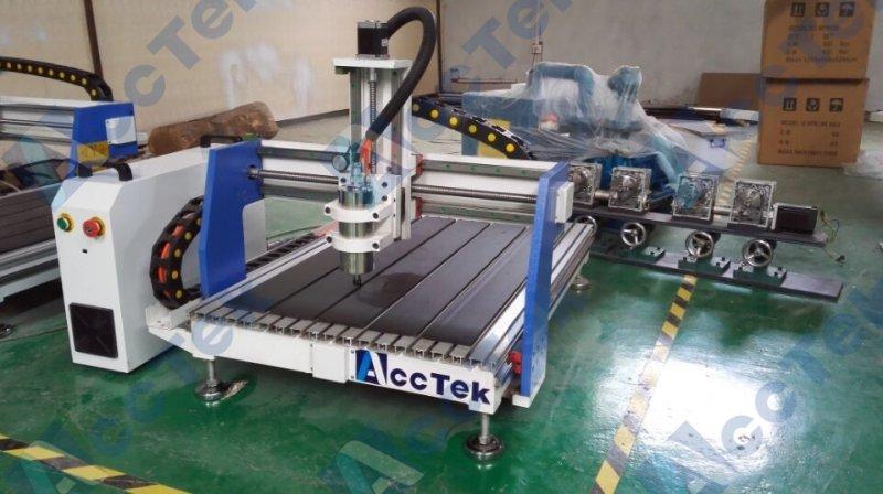 Chine Acctek CNC routeur machine mini 6090 3d scanner laser machine