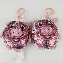 10cm Lovely Animal Pig Stuffed Plush Kawaii Toys High Quality Doll For Children Gift 1PC