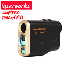 1000m PRO Waterproof Handheld Infrared Laser Rangefinders Telescope Tester Measured Angle Outdoor Golf Power Engineering