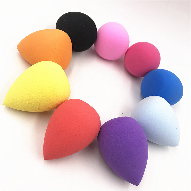 1pcs Cosmetic Puff Powder Puff Smooth Women's Makeup Foundation Sponge Beauty to Make Up Tools Accessories Water-drop Shape