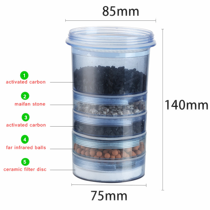 5 Stage Water Filter Cartridge Ceramic Carbon Mineral