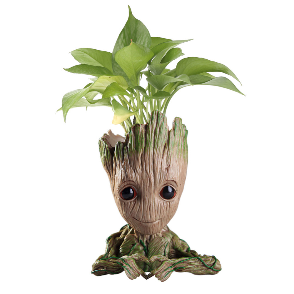 Baby Groot Flowerpot Flower Pot Planter Action Figures Guardians of The Galaxy Toy Tree Man Cute Model Toy Pen Pot Kids ToysBaby Groot Flowerpot Flower Pot Planter Action Figures Guardians of The Galaxy Toy Tree Man Cute Model Toy Pen Pot Kids Toys