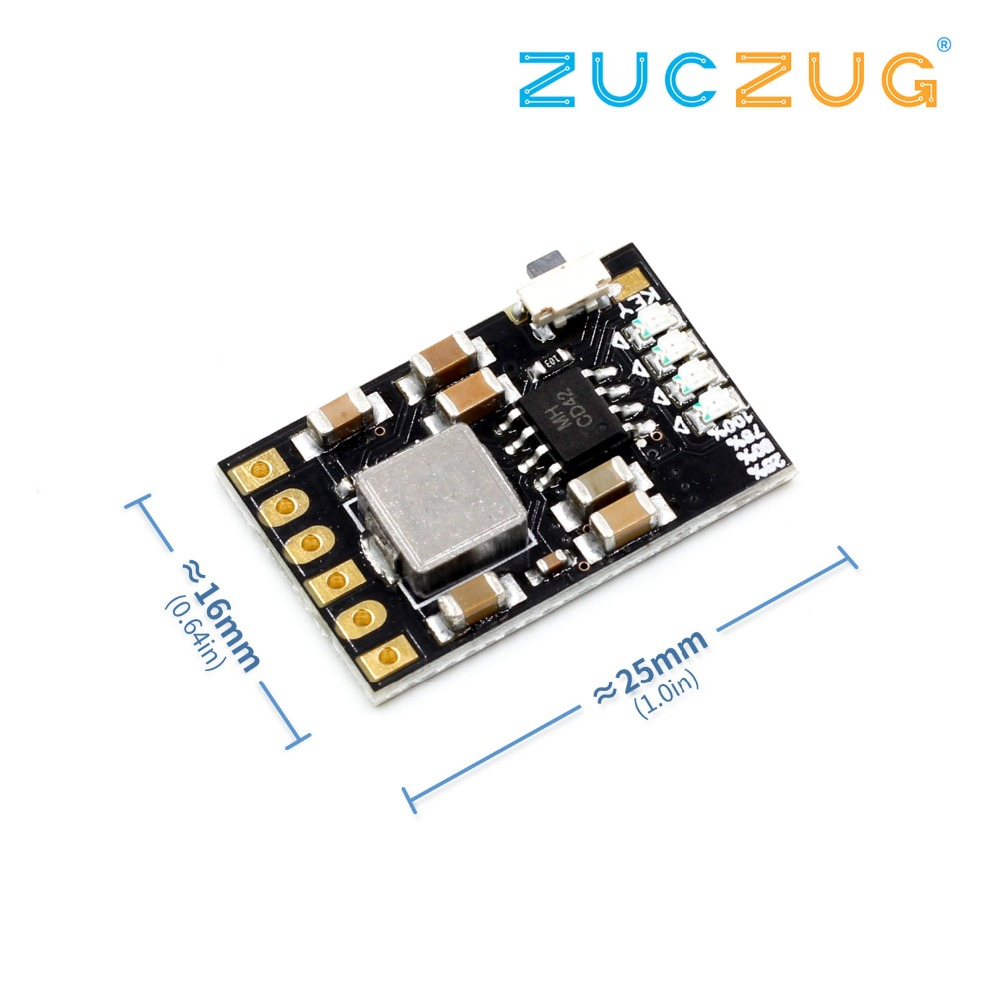 2A 5V Charge Discharge Integrated 3.7V 4.2V Lithium Battery Boost Mobile Power Protection Diy Electronic PCB Board Module image