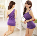 Ladies Sexy  Night Dress Sleeveless Nighties Sleepwear Nightwear For Women A800815