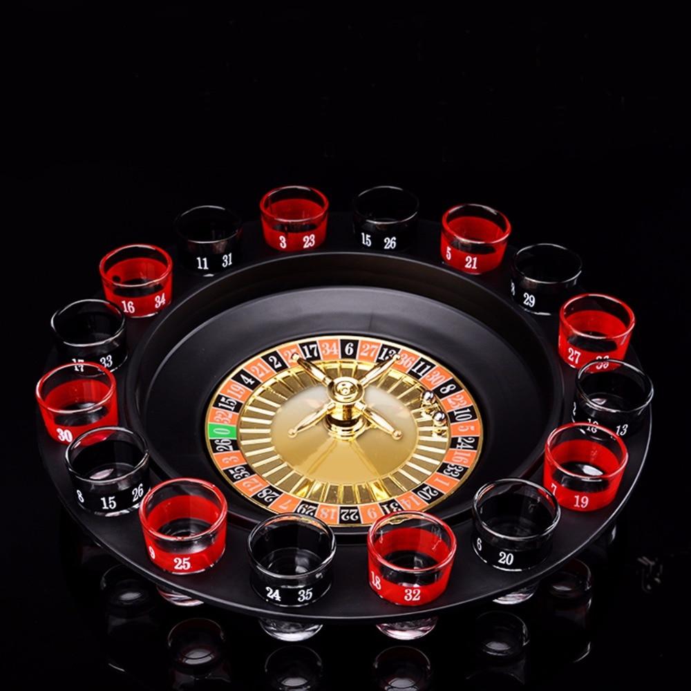 Roulette luminosa da bere istruzioni
