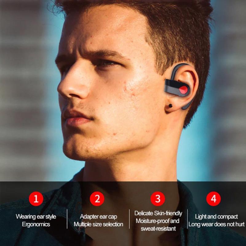 Mini Wireless Bluetooth Earphones In-Ear Earbud Single Headset Headphone