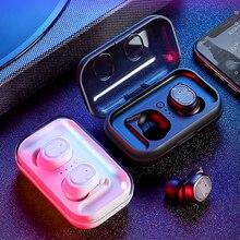 Hevaral Bluetooth 5.0 Wireless Headphones TWS Touch Control Earbuds with Charging Case Sport Earphones IPX5 Waterproof Headset plextone bx343 wireless bluetooth earphones ipx5 waterproof earbuds magnetic headset for phone sport with microphone