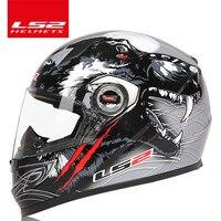 Ls2 Ff358 Urban Racing Motorcycle Helmet Motorcycle Helmet Safety Helmet Full Helmet Motobike LS2 Helmet 100
