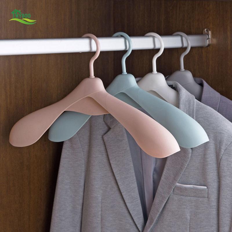 Wide Shoulder Marker Hangers Household Non-slip Clothes Hangers Multi-purpose Clothes Hangers Plastic Clothes Hangers