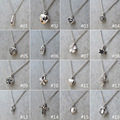 1Pc New Bone Ash Ashes Locket Cross Heart Shape Pendant Urn Chain Necklace