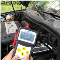LANCOL Automotive Battery Tester Multi Language Vehicle Car Battery System Analyzer Diagnostic Tool With USB PORT