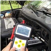 LANCOL Automotive Battery Tester Multi Language Vehicle Car Battery System Analyzer Diagnostic Tool With USB PORT
