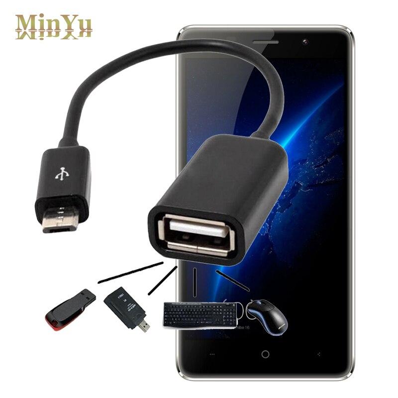 Micro USB 2.0 Host OTG Cable Adapter for InFocus Bingo M535+ (M535 Plus), 20, 21 (M430) / S1 M680 M535 M812 M808 OTG Conveter