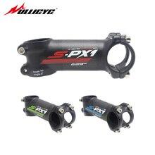Ullicyc Mountain/Road bike Carbon Stem 6/17 Degree bicycle stem Fork Clamp Diameter 28.6mm handlebar diameter 31.8mm*60-120mm