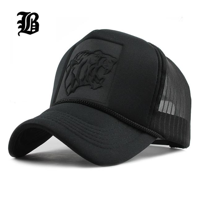 FLB 2017 Hip Hop negro estampado de leopardo curva gorras de béisbol de  verano malla cba57a4e219