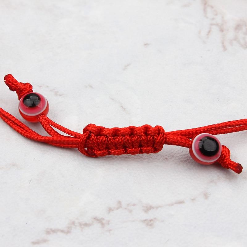 käsitööna valmistatud akrüülist käevõru punane kuri silm - Mood ehteid - Foto 4
