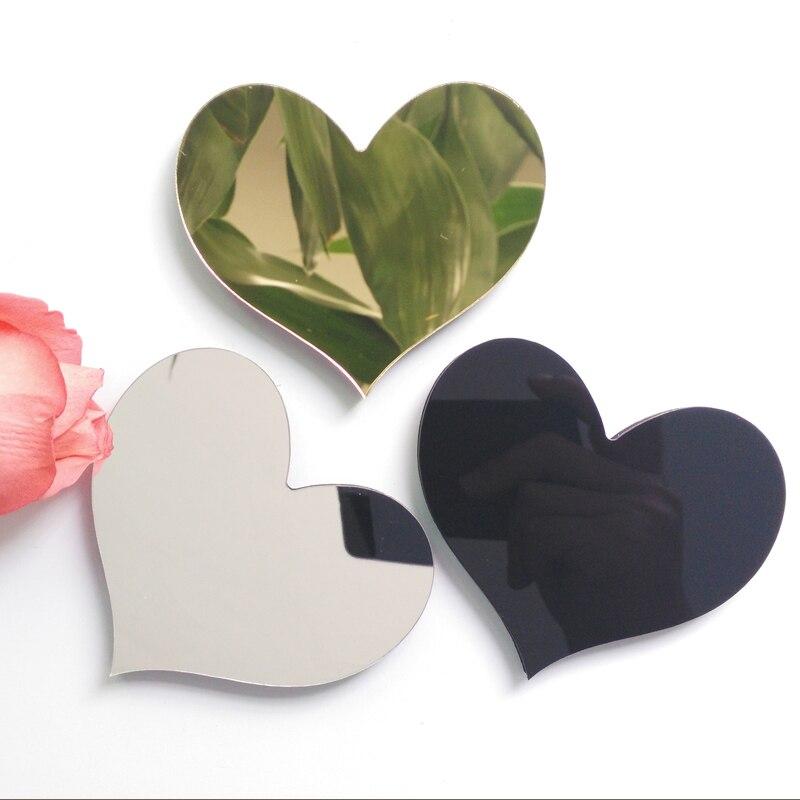 2019 new diy wall stickers 3d sticker acrylic decoration wedding gift love letters decorative Alphabet wall decor