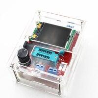 Многофункциональный тестер GM328 прибор для проверки транзистора диод постоянной ёмкости, универсальный Конденсатор СОЭ метр ШИМ генератор ...