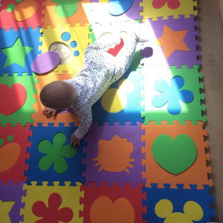 Cartoon Baby Foam Puzzle Mats EVA Baby Floor Mats Jigsaw Puzzle Mat Kids Play Carpet Children