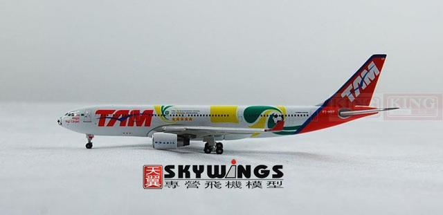 Phoenix 10358 TAM A330-200 PT-MVP of Brazil Pegasus Airlines commercial jetliners plane model hobby
