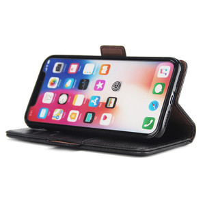 Image 4 - Luxury Leather Wallet Case for Iphone 8 7 6 6S Plus Card Slots Holder Stand Magnetic Flip 360 Book Cover for Iphone X XS MAX XR