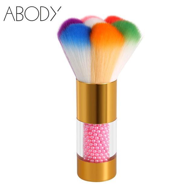 Nylon Hair Nail Dust Brush Acrylic & UV Nail Gel Powder Nail Art ...