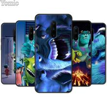 Black Case for Oneplus 7 7 Pro 6 6T 5T Silicone Phone Case for Oneplus 7 7Pro Monsters University Soft Cover Shell
