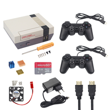Sale NESPi Raspberry Pi 3 Case Retroflag Nespi Case Classical Box + Fan + Heat Sink + SD Card + Power Adapter + Game Controller +HDMI