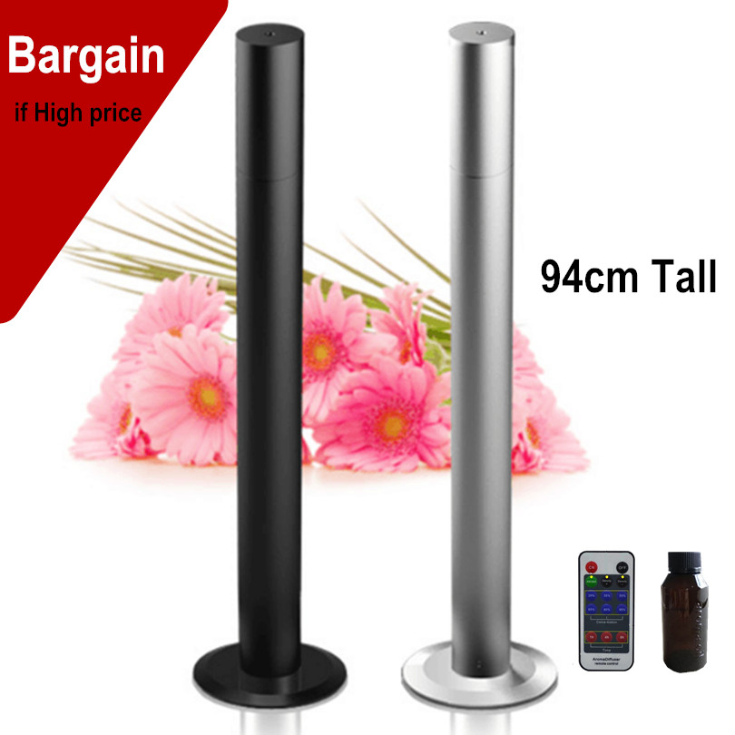 Remoter Control Fragrance Scent Machine 200m3 Coverage Area 94cm Tall US EU plug Silent Work Atomizer Aroma Machines For Office home scent machine air 2 000m3 coverage area 500ml hvac fragrance delivey systems with 100