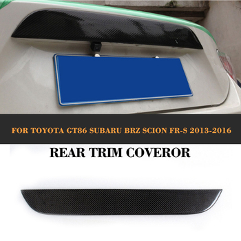 Car Rear Trunk TrimsAuto Trunk Decoration For Toyota FT86 GT86 BRZ For Scion 12-14