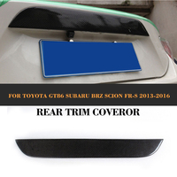 Car Rear Trunk TrimsAuto Trunk Decoration For Toyota FT86 GT86 BRZ For Scion 12 14
