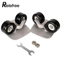 Relefree Drift Board Parts Skate Wheels W/Bearings For Outdoor Sporting Performance