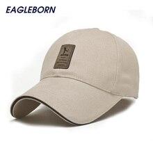 2017 EAGLEBORN Brand Fashion Baseball Cap for Men Women Cotton Casual Hats for Men Golf Logo snapback casquette bone gorras