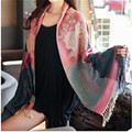Foulard Hijab From India Scarf Lace Shawl Wither Plaid Women Bandana Cape Scarves Bufandas Mujer Wrap Scarfs Echarpe