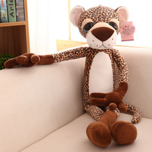 lovely cartoon leopard plush toy large 80cm leopard doll, soft pillow, birthday present Xmas gift c723